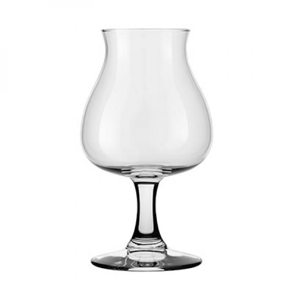 """Beer Glass, 13-3/4 oz. (414 ml), short, Safedge(R) rim guarantee, AnDer, glass, clear (H 6-3/8"""""""