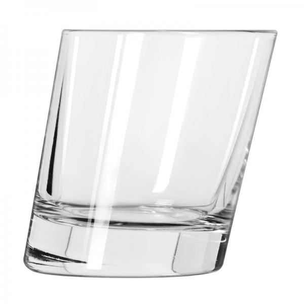 9-1/2 oz. Pisa Slanted Rocks / Old Fashioned Glass
