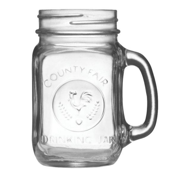 Libbey 97085 County Fair 16-1/2 oz. Mason/Drinking Jar