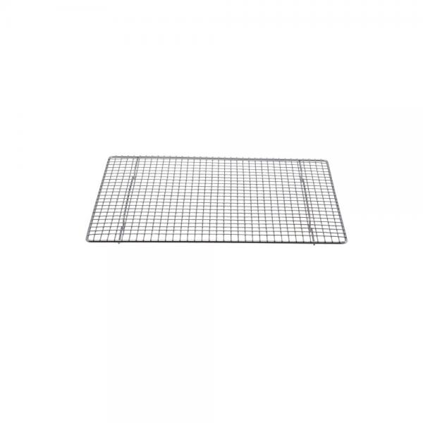 """Pan Grate, 1/2 size sheet pan, 11-3/4"""" x 16-1/2"""", chrome plated wire"""