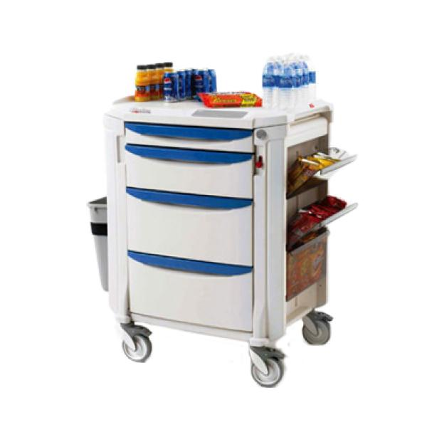 Mini Bar Restocking Cart High Profile With 1 3 Quot Drawer