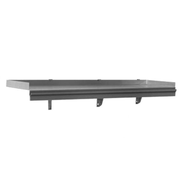 Snap N Slide Shelf Wall Mounted With Ticket Rail 72 Quot W X