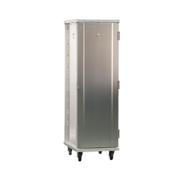 Pan Rack, Mobile, Full Height, Enclosed Cabinet