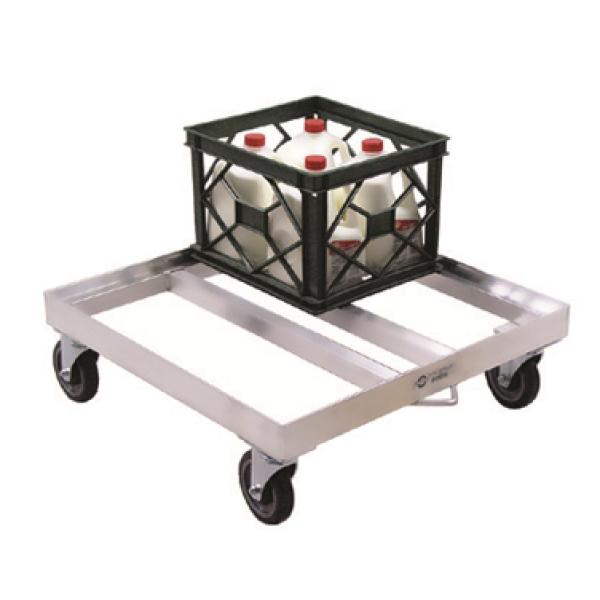 Milk Crate Dolly, open frame, 26-3/4\