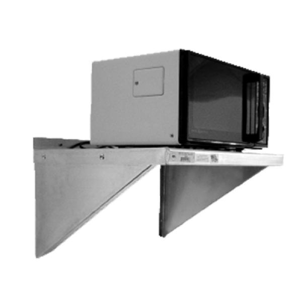 Microwave Shelf Wall Mounted 24 Quot W X 18 Quot D X 13 1 4 Quot H