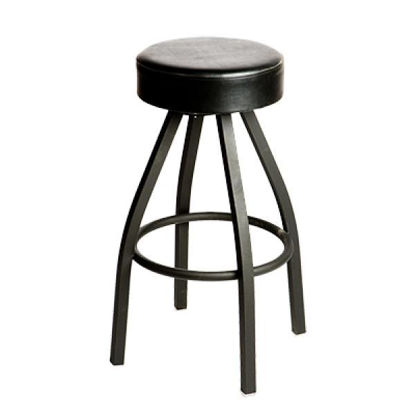 Outstanding Oak Street Sl1132 Esp Swivel Bar Stool Counter Height Backless Upholstered Button Top Seat Machost Co Dining Chair Design Ideas Machostcouk