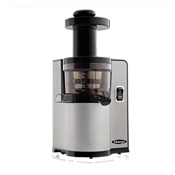Omega vertical Masticating Juicer, low speed, heavy duty juicing screen and dual edge auger ...