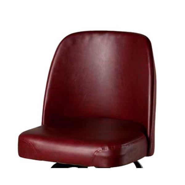 Bar Stool Seat Only Bucket Style Vinyl Wine Contact