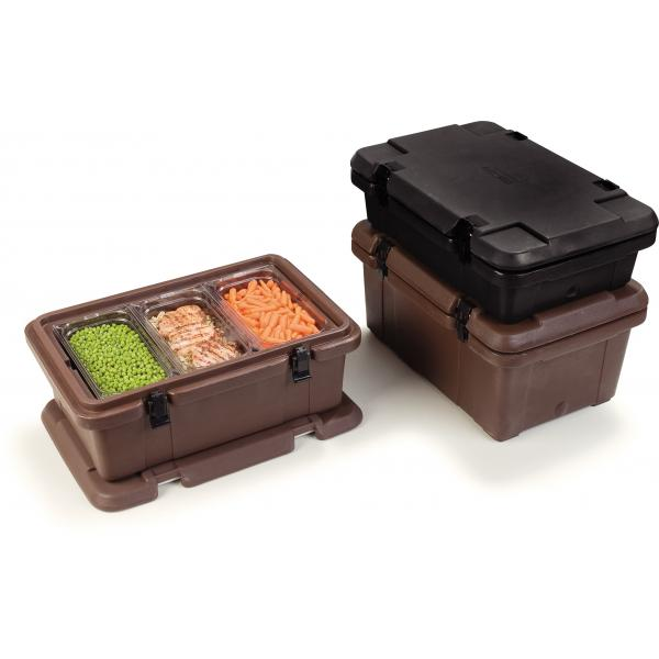 Carlisle PC188N03 Cateraide Food Carrier, top loader, insulated, for full  size or fractional pans up to 8