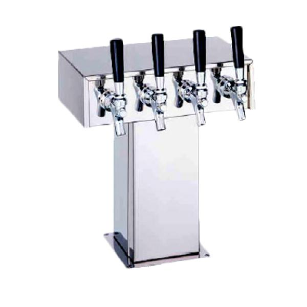 Perlick 40063BPC Tee Draft Beer Tower