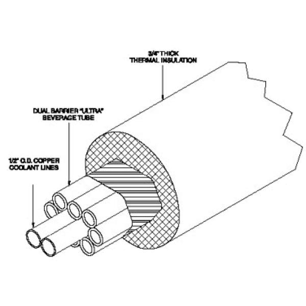 First Basic Trunk Housing For Remote Beer System 20 5 16 I D