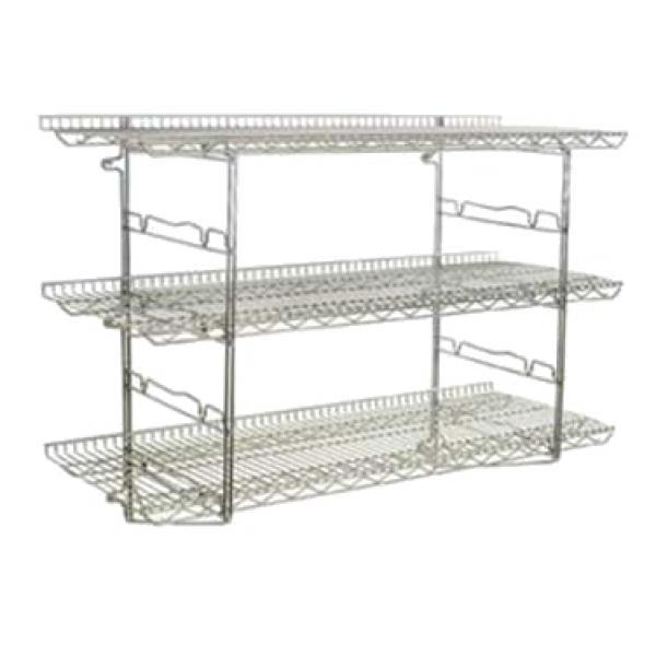 Piggyback Wall Mounted Shelf Kit 3 Tier 24 Quot W X 18 Quot D 2
