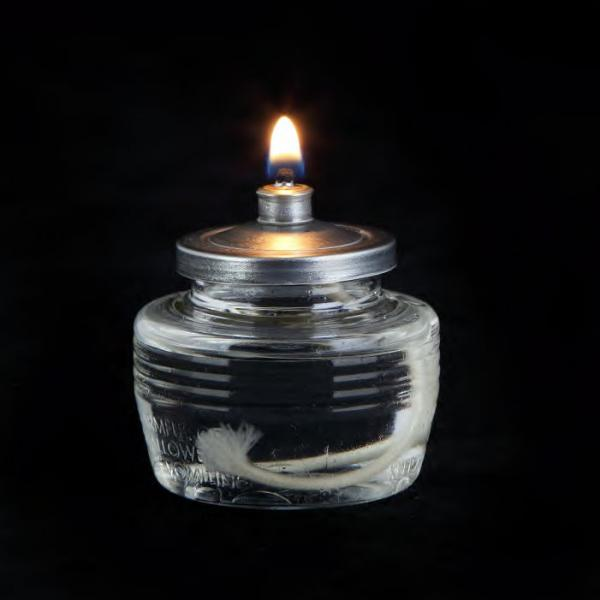 "Soft Light(R) Liquid Wax, disposable, 1-13/16"" H x 1-11/16"" dia., 12 hours burn time, liqu"