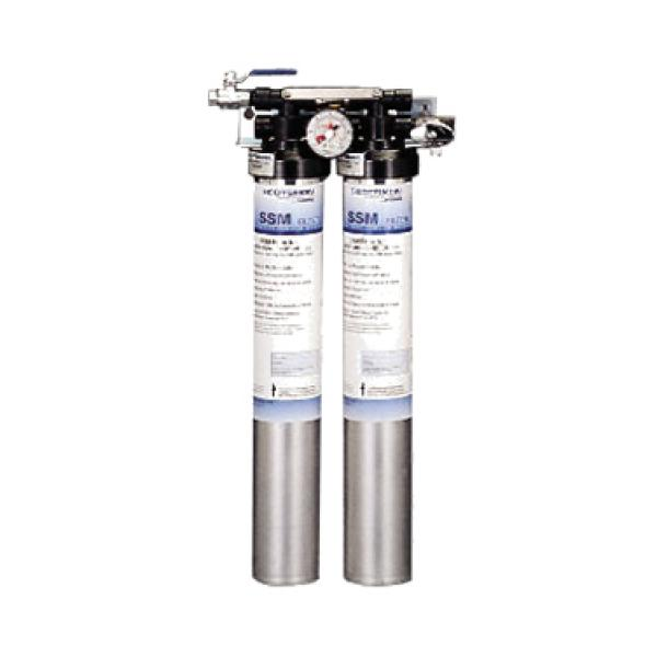 Water Filter Assembly Twin System Designed For Ice
