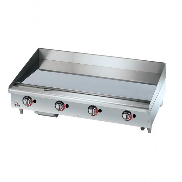 Star Commercial Griddles For Restaurants ~ Star max r quot countertop thermostatic gas griddle