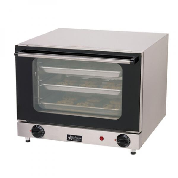 Holman Electric Countertop Convection Oven : Holman? Countertop Convection Oven - 175-500? F - Fits (4) Quarter ...