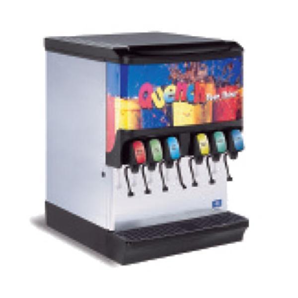 Ice Beverage Dispenser 150 Lb Capacity Led Lighting