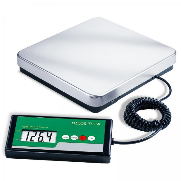 Receiving Scale Digital 150 Lb X 0 2 Lb 70 Kg X 0 1