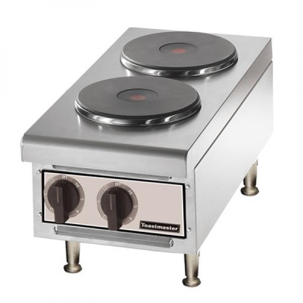 Hotplate Countertop Electric 2 Burners Restaurant Equipment Solutions