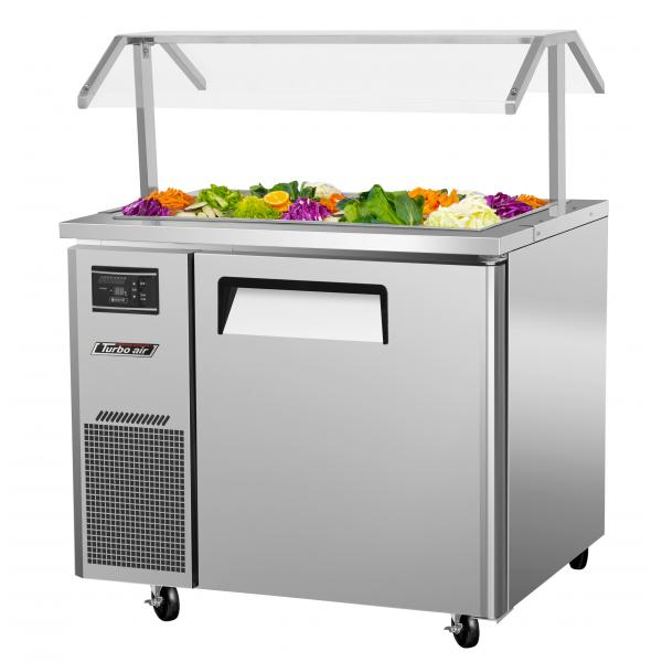 36 Quot Refrigerated Buffet Table 7 5 Cu Ft Stainless W