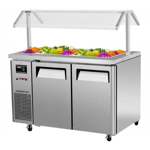 48 Quot Refrigerated Buffet Table 11 Cu Ft Stainless W