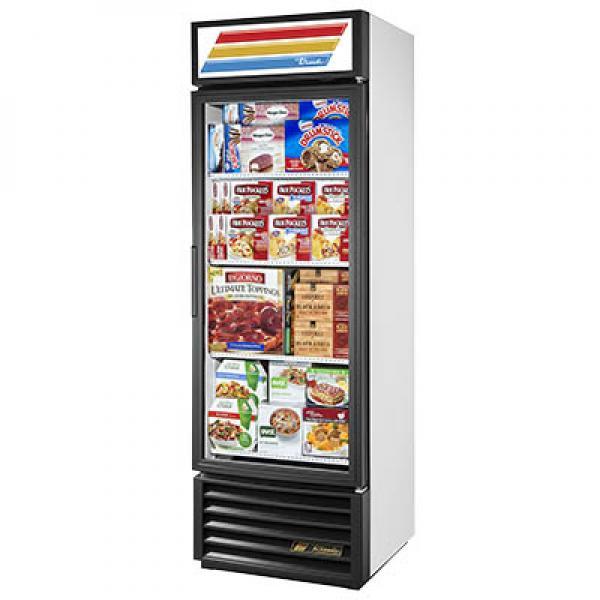 27 Freezer Merchandiser 19 Cu Ft One Glass Door
