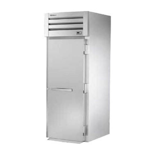 True Refrigeration STA1FRI1S Spec Series Roll-In Freezer - One Section Stainless Door