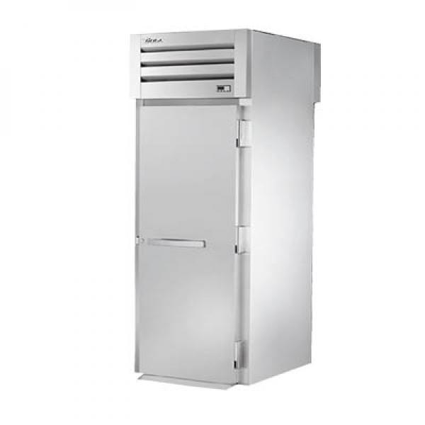 True Refrigeration STA1HRT1S1S Spec Series Roll-Thru Heated Cabinet - One Section Front & Rear Stainless Doors