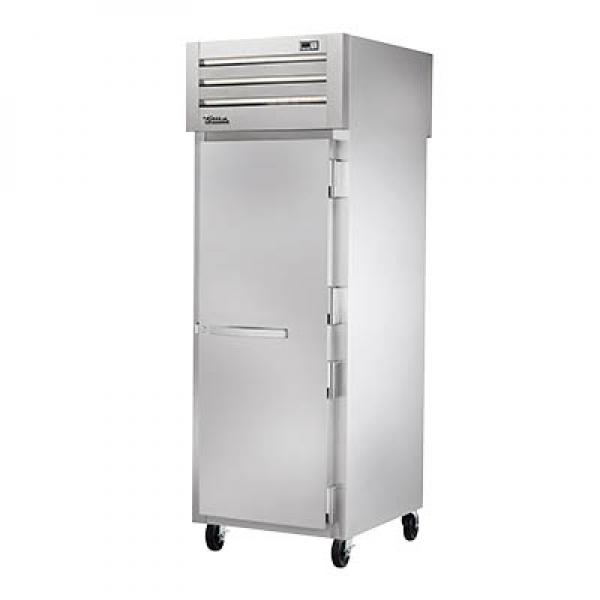 True Refrigeration STG1FPT1S1S Spec Series Pass-Thru Freezer - One Section Front & Rear Stainless Doors