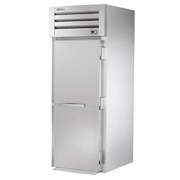 True Refrigeration STR1FRI1S Spec Series Roll-In Freezer - One Section Stainless Door