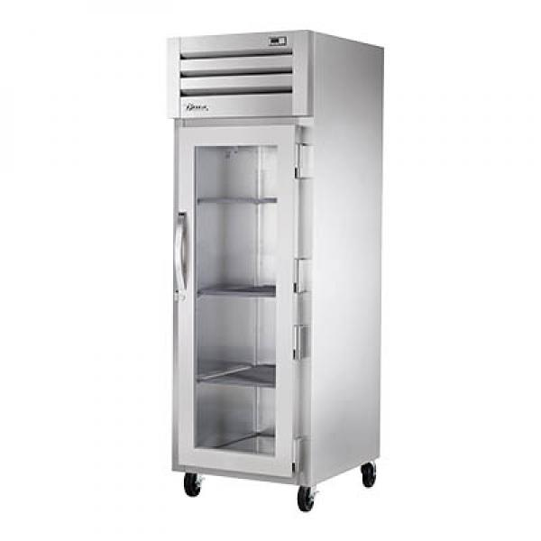 True Refrigeration STG1H1G Spec Series Reach-In Heated Cabinet - One Section Glass Door