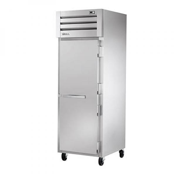 True Refrigeration STR1R1SHC Spec Series Reach-In Refrigerator - One Section Stainless Door - R290