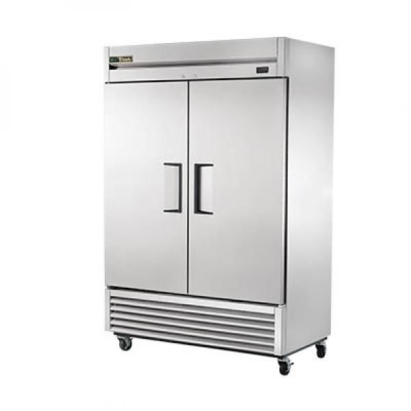 "55"" Bottom Mount Reach-In Refrigerator - 49 Cu. Ft. - Two Stainless Doors, R290"