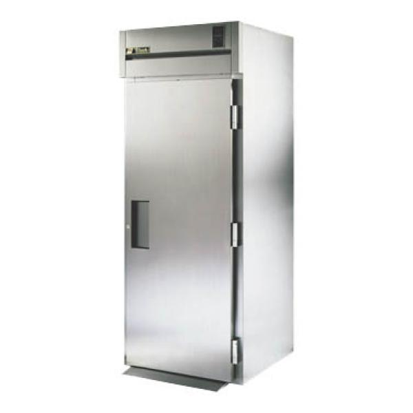 True Refrigeration STA1RRI891S Spec Series Tall Roll-In Refrigerator - One Section Stainless Door