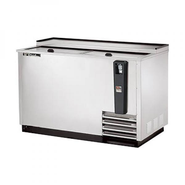 "True Refrigeration  50"" Stainless Steel Horizontal Bottle Cooler"