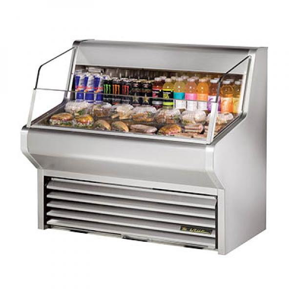 True Refrigeration THAC48SLD Horizontal Air Curtain Merchandiser