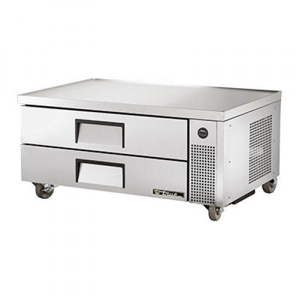 "True Refrigeration TRCB52 52"" Refrigerated Chef Base - Two Drawers"