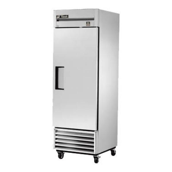 "True Refrigeration TS23FHC 27"" All Stainless Bottom Mount Reach-In Freezer - 23 Cu. Ft. - Stainless Door"