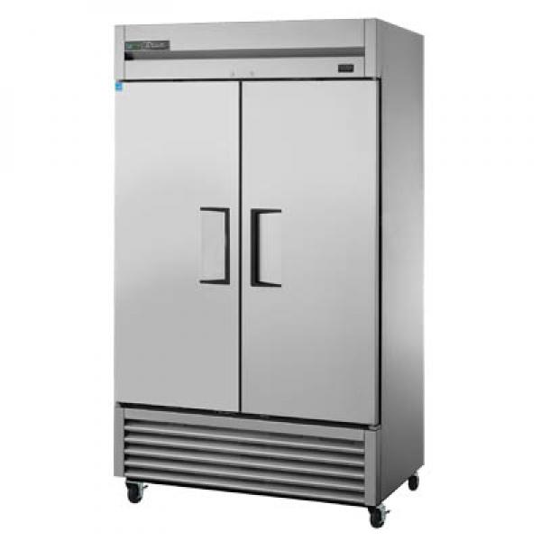 "True Refrigeration TS43HC 47"" All Stainless Bottom Mount Reach-In Refrigerator - 43 Cu. Ft. - Two Stainless Doors"