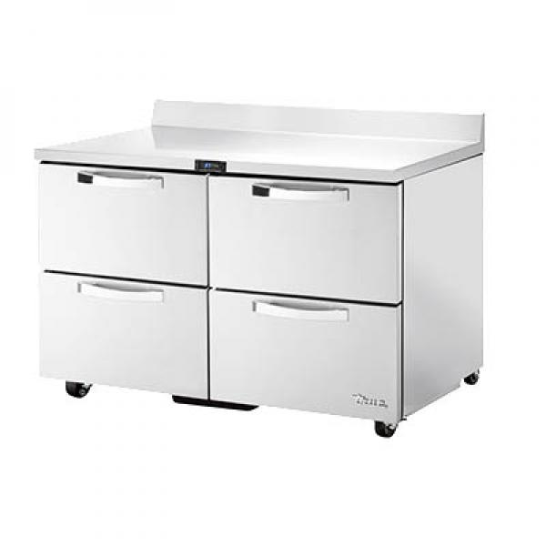 SPEC SERIESR ADA Compliant Work Top Refrigerator Twosection - Ada restaurant table
