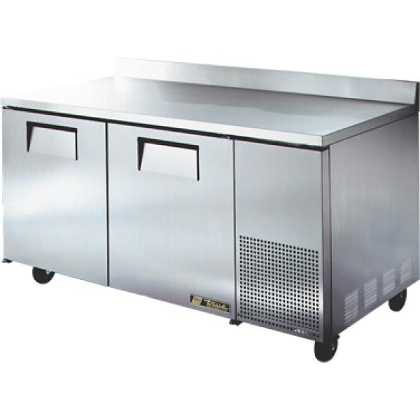 Heavy Duty Refrigerator : Quot heavy duty deep work top refrigerator two stainless