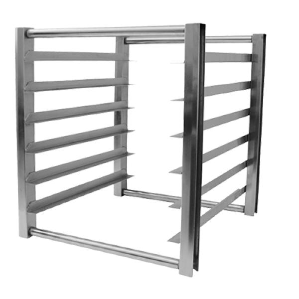 Turbo Air TSP2224 Half Size Pan Rack for Refrigerators and Freezers - 7 Full Size Bun Pans