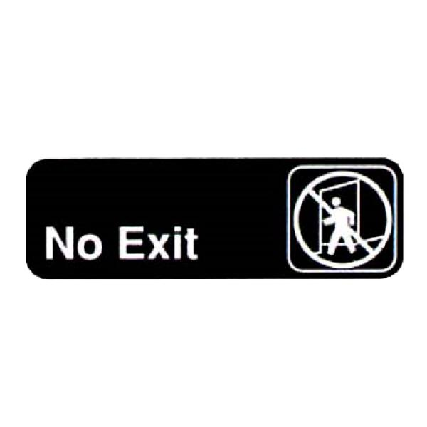 Vollrath 4508 No Exit Sign