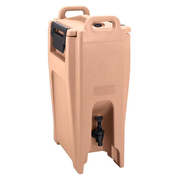 Cambro UC500157 Ultra Camtainer Beverage Carrier, Coffee Beige