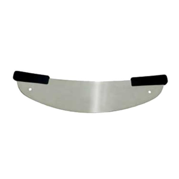 pizza rocker knife 20 beveled blade dual hanging holes black polypropylene offset handles. Black Bedroom Furniture Sets. Home Design Ideas