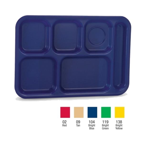Vollrath 201502 School Compartment Tray