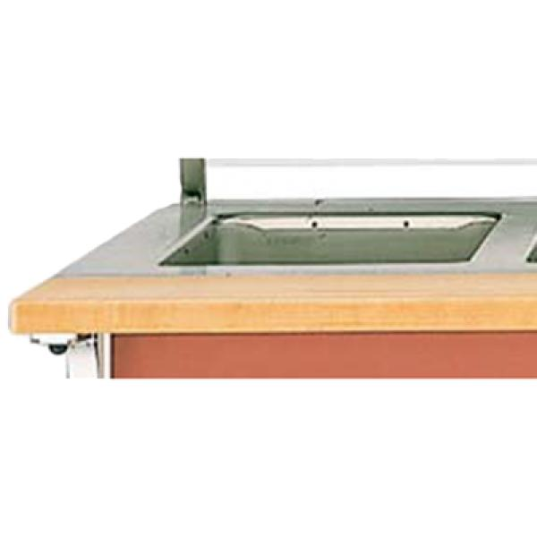 Vollrath 375512 Cutting Board - ADA Signature Server with Stainless Steel Countertops