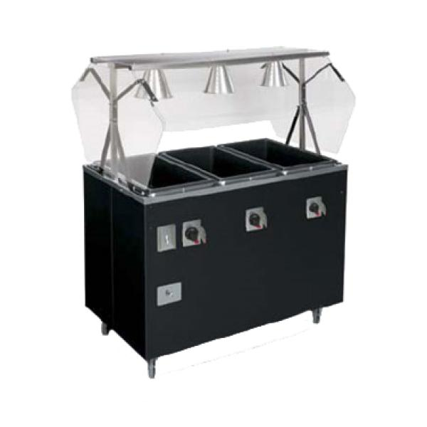 Vollrath T38937464 Affordable Portable Hot Food Station Deluxe