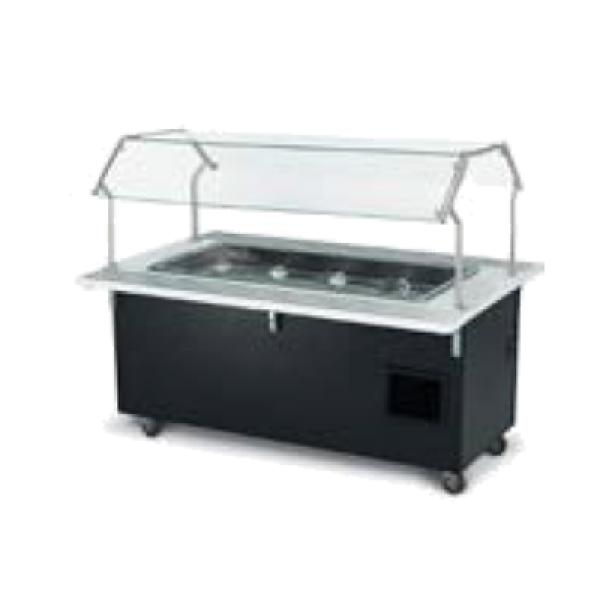 Vollrath 97014 Signature Server ADA Rectangular Frost Top Station Base