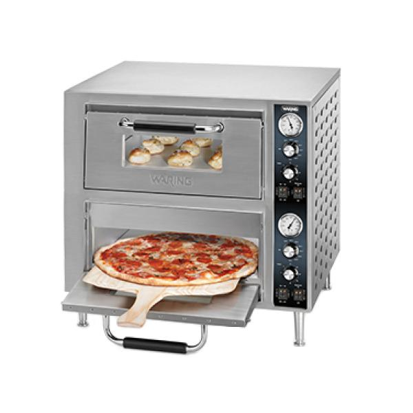 Double-Deck Pizza Oven, electric, countertop, 27\